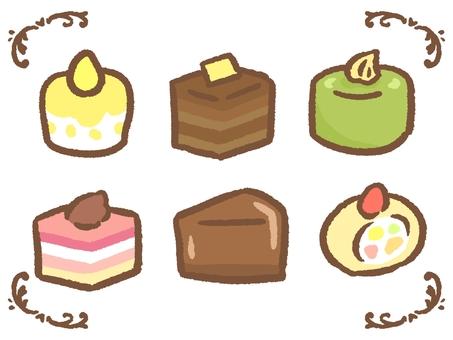 미니 케이크 세트