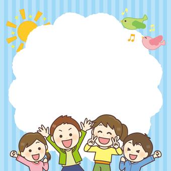 Children's frame