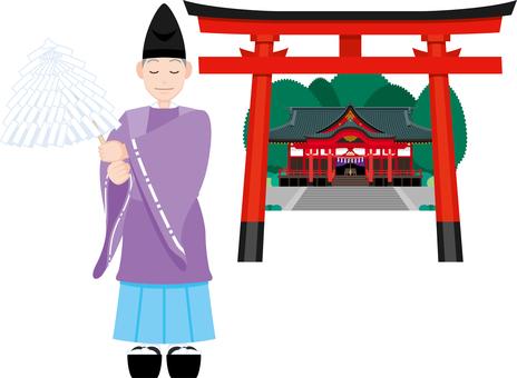 Shinto shrine Exhaust Torii