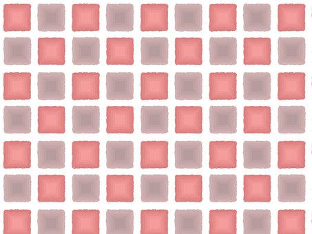Hand drawn tile pattern 3