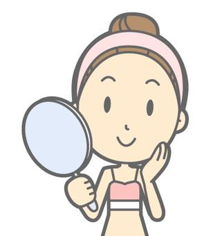 Ladies underwear - Mirror smile - Bust