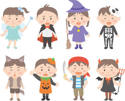 Halloween costumed (modified)