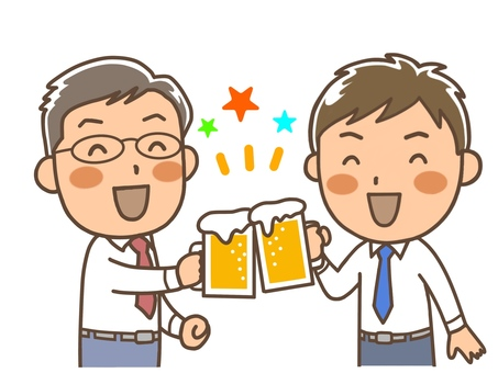 Drinking party 4 Working relationship 2 men
