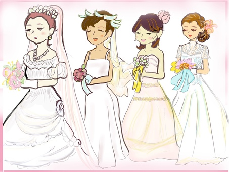Wedding dresses by age