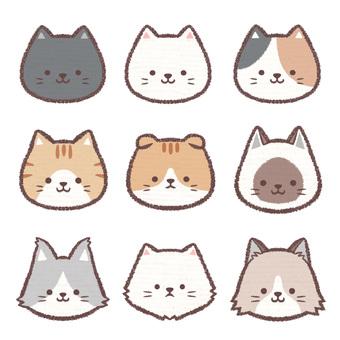 アイコン猫集め