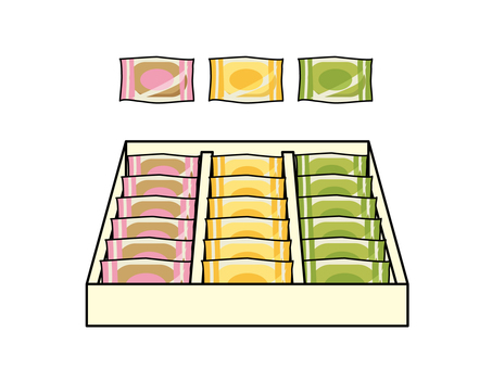 Assortment of gift baked confectionery