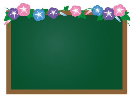 Morning glory _ blackboard