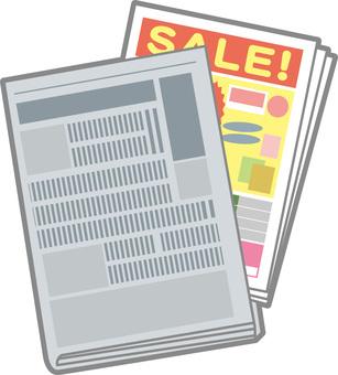 Newspaper insert flyer