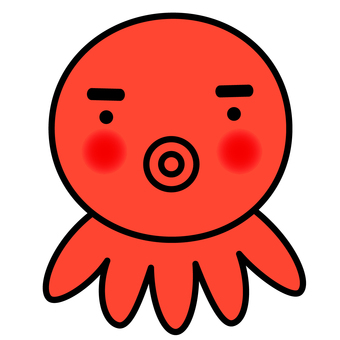 Octopus (red · eyebrows)