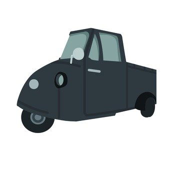 Auto three wheel (black)