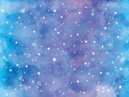 Starry sky background / wallpaper material 1