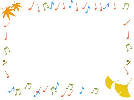 Fall of music