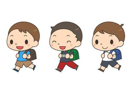 가방 _ 소년 세트