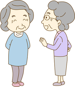 Grandma's conversation