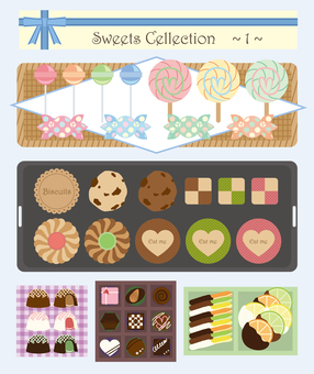 Assorted sweets 【1】