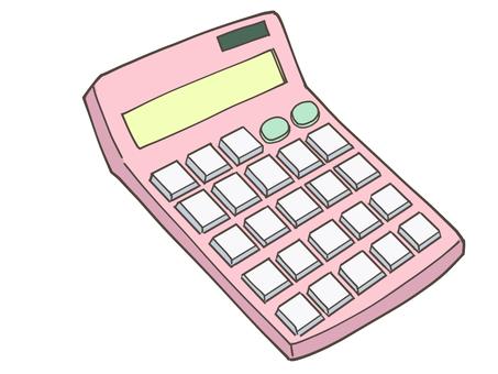Calculator calculator (pink)