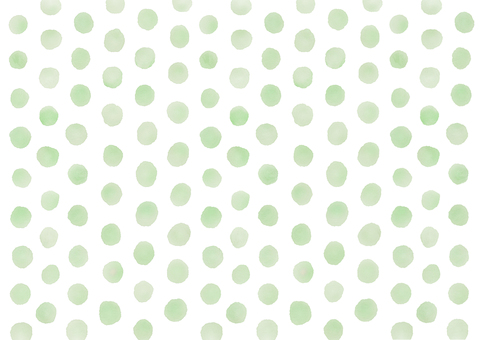 Watercolor picture Dot spot dot background (green)