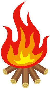 Flame-02 (bonfire)