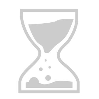 Hourglass (gray)