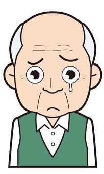 Grandpa (crying)