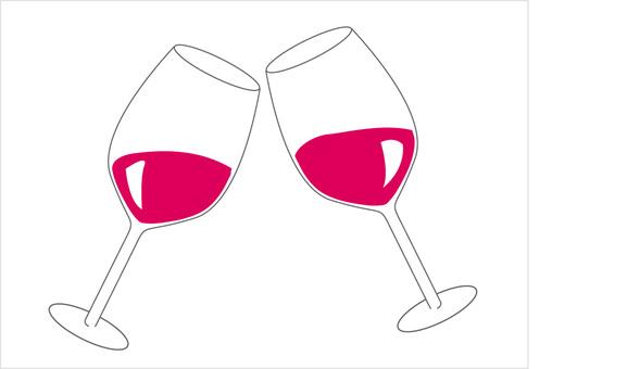 A glass toast