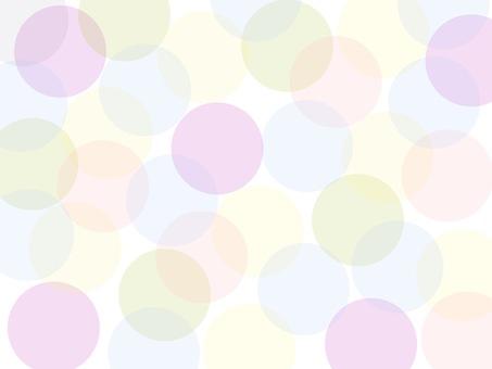 밝은 색상의 물방울 배경