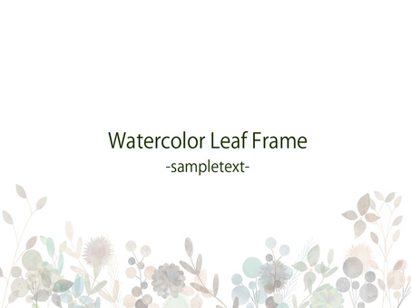 Fall color frame ver 40