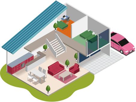주택 인포메이션 그래픽