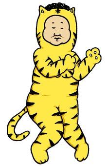 Mature tiger 2