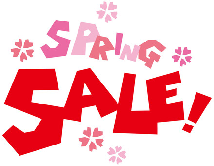 Spring spring sale (data for advertisement publicity)