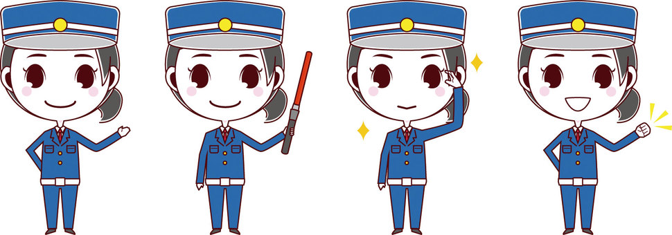 Guardman / Security Guard_Female 01