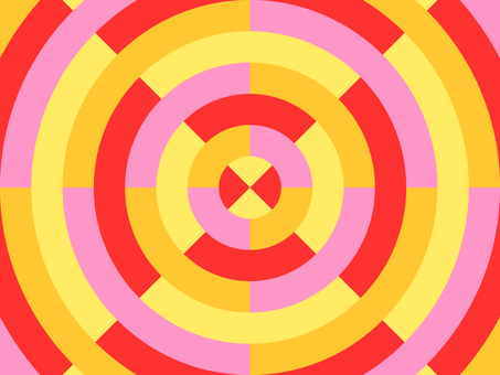 Concentric circles_colorful_3