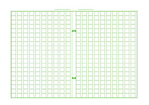 Manuscript paper green
