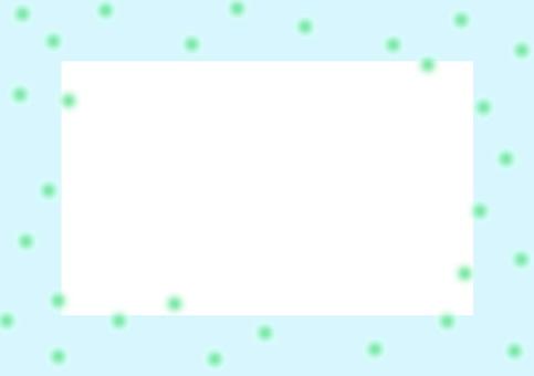 20% transparent frame blue dot