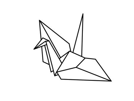 Folding crane A-1