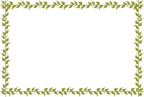 Plant frame (sepia)