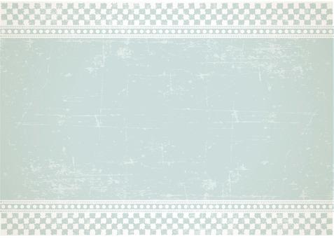 Background - Ichimatsu sketch green