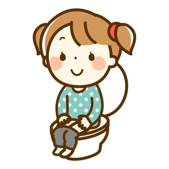 Girl in the toilet (Daily)