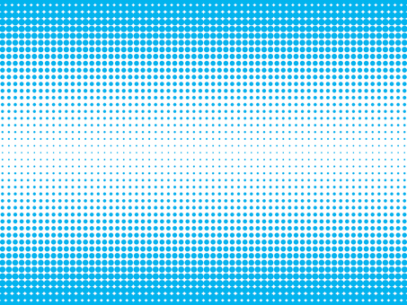 Background material of color halftone (upper and lower light blue)