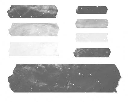 Galaxy masking tape
