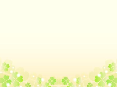 三葉草的裝飾框架4