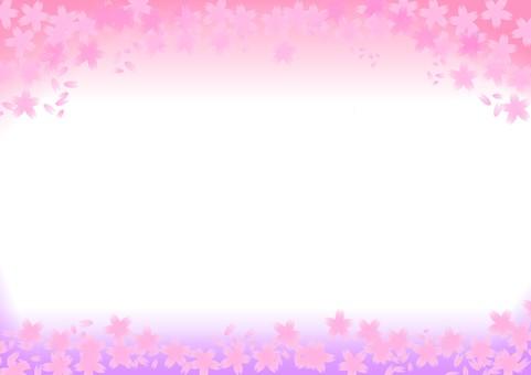 Sakura letter paper A4 size