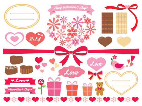 Valentine Illustration Material Collection (2)