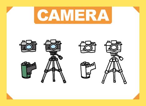 Film camera tripod