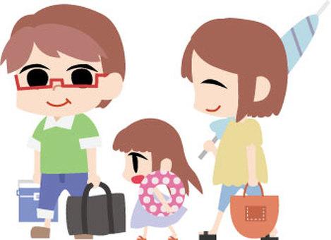 Sea family trip