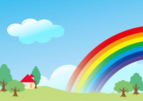 Rainbow Scenery 2