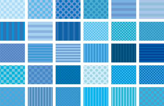 Pattern - Blue 01