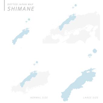 Dot map Shimane