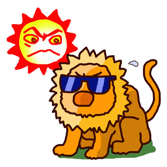 Let's be careful about ultraviolet rays!