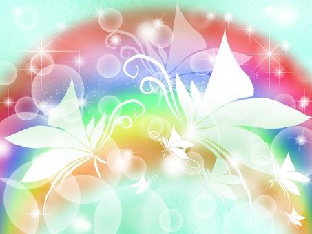 Into the rainbow ...
